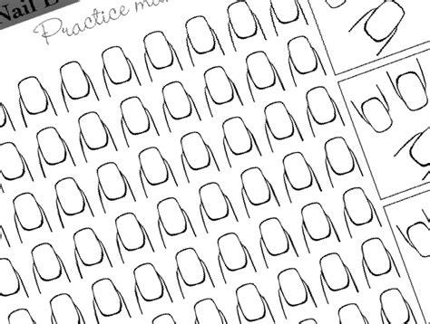 Free Printable Nail Templates