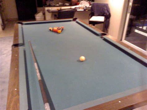 Pool Table Assembly by Billiards Forum 1969 Pool Table Assembly