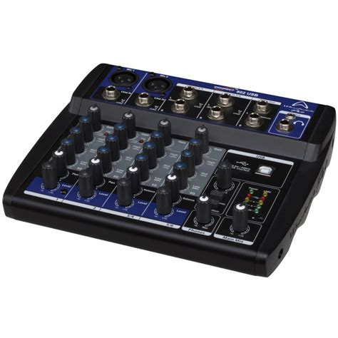 Mixer Wharfedale wharfedale pro connect 802 usb mixer box opened at gear4music