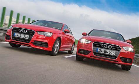 Autoversicherung Audi A4 by Audi A3 Limousine Gegen A4 1 8 Tfsi Im Vergleich