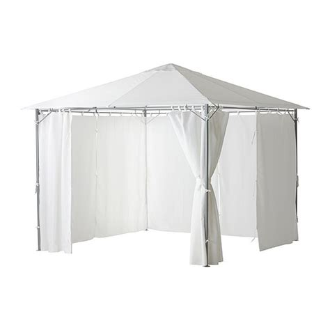 karls 214 gazebo with curtains ikea