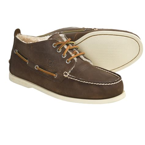 sperry top sider boots mens sperry top sider winter authentic original chukka boots