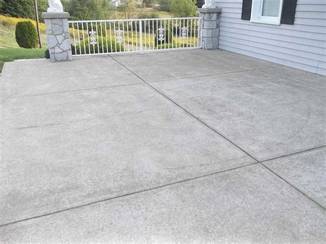 concrete slabs for backyard baker s waterproofing basement waterproofing photo album concrete patio