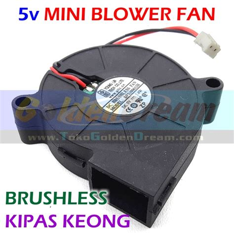 Kipas Blower Mini jual 5v mini blower fan kipas keong brushless dc angin