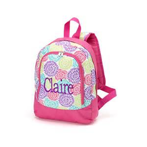 personalized toddler backpack monogram preschool by