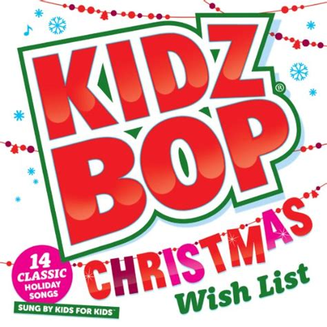 kidz bop christmas wish list cd family fun journal