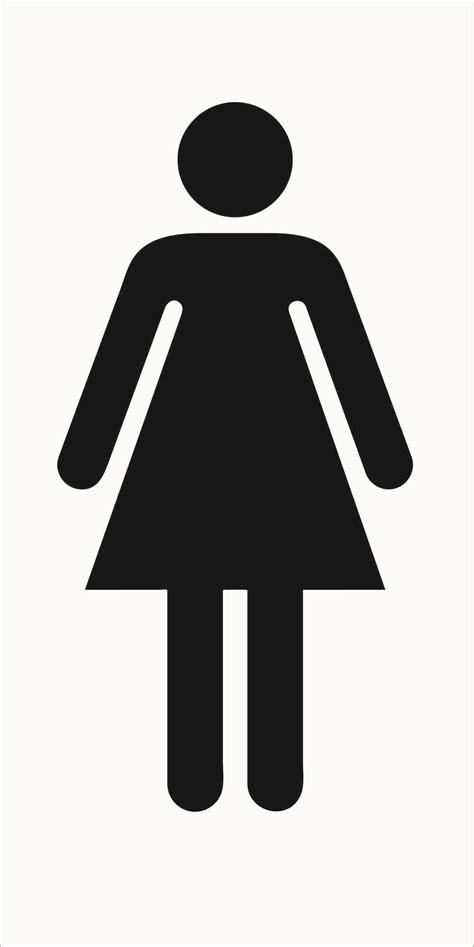 ladies bathroom sign ladies toilet symbol www pixshark com images galleries