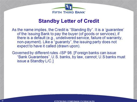 Standby Letter Of Credit Or Bank Guarantee Export Finance Solutions Reducing The Financial Risk Of International Sales