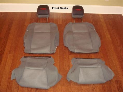 Oem Seat Upholstery by Toyota Tacoma Cab Oem Seat Covers Floor Mats