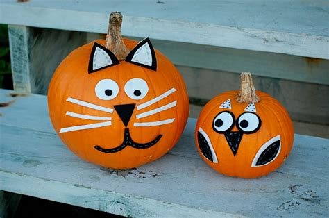 como decorar calabazas sin cortarlas decoraci 243 n alternativa para las calabazas de halloween