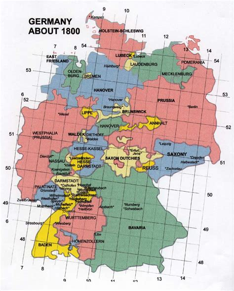 Bayern Germany Birth Records Map Of Baden Germany 1800 Germany 1800 Europe Family Roots And
