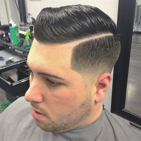 comb over hard part 30 hard part haircut ideas peinado de trenza