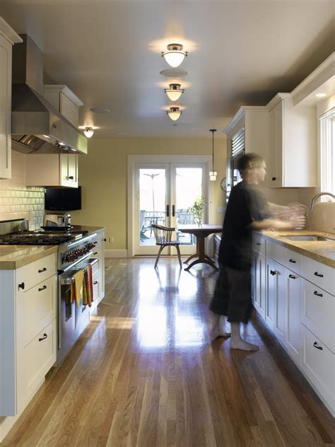 galley kitchen lighting ideas galley kitchen lighting kitchen contemporary with black