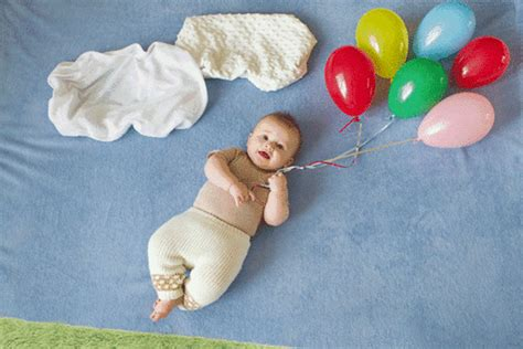 themes for baby photoshoots 21 creative baby photo ideas brit co