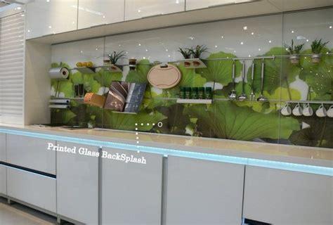 Back Painted Glass Kitchen Backsplash Kitchen Backsplash Railing System For Personalized Luxury