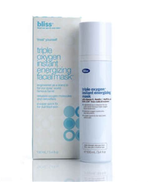 Best Oxygen Instant Energizing Mask by Bliss Oxygen Instant Energizing Mask Review Sassy