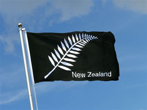boat flags nz new zealand feather all blacks 3x5 ft flag royal flags