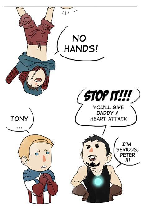 Captain America Kink Meme - spiderman iron man tony stark captain america steve rogers