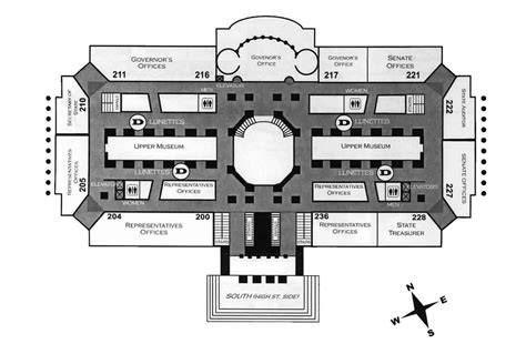 capitol building floor plan missouri state capitol floors