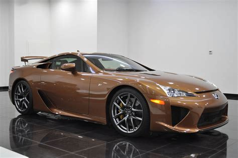 widebody lexus lfa what would you say to a brown lexus lfa for 645k
