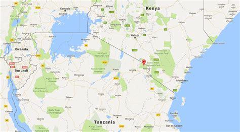 mt kilimanjaro map mount kilimanjaro map my