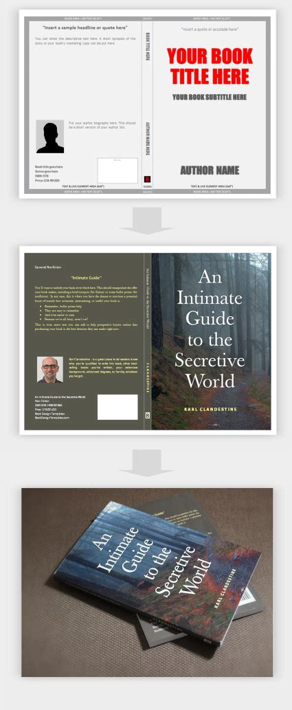 Now Create Your Book Covers In Microsoft Word With Book Design Templates Bookdesign Author Createspace Indesign Templates
