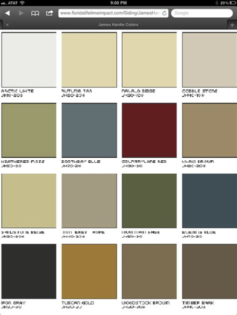 hardi board colors decorating back to colors and grey