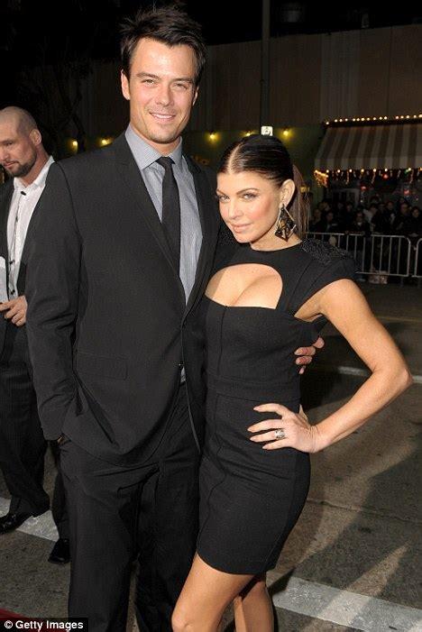 Black Eyed Peas Fergie Engaged To Josh Duhamel Reps Confirm by Fergie And Husband Josh Duhamel Put On United Front