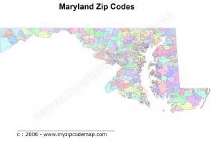 Zip Codes Zip Code Frederick Md