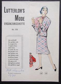 goldener schnitt mode lutterloh on vest pattern shirt patterns and