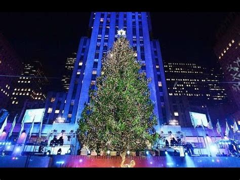 tree lighting 2016 rockefeller center tree lighting 2016