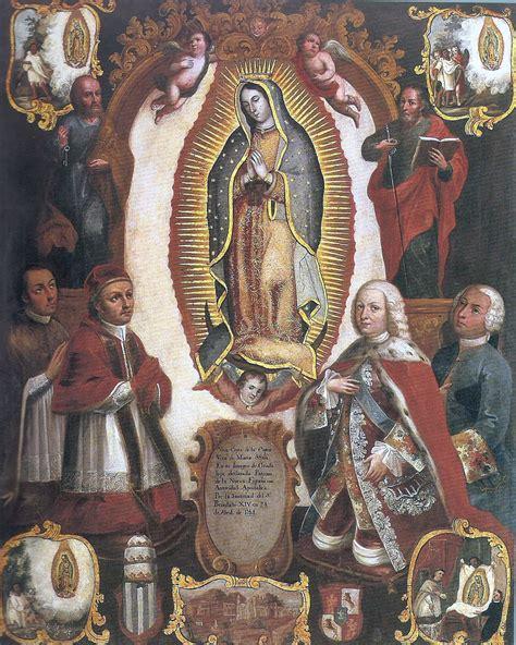imagenes de la virgen de guadalupe wikipedia file alegor 237 a de la declaraci 243 n pontifica del patronato