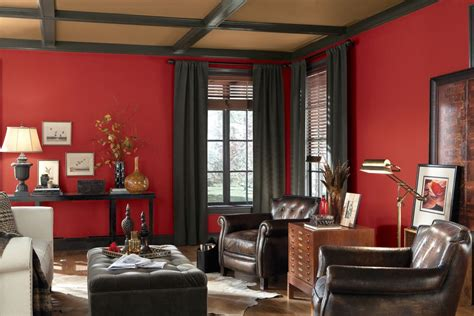 red paint colors for living room see the hottest red paint colors