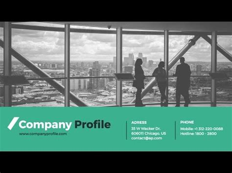 design and construction company profile sle company profile powerpoint presentation template youtube