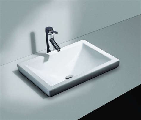contemporary bathroom sinks cantrio ps 111 contemporary bathroom sinks by