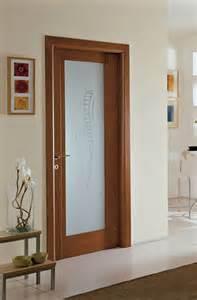 porte interni in ciliegio e vetro fbp porte in legno per interni