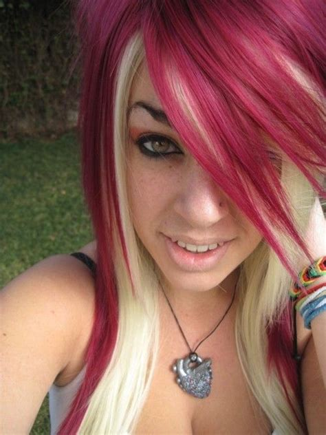 hairstyles red and blonde 129 best hair blonde and red images on pinterest