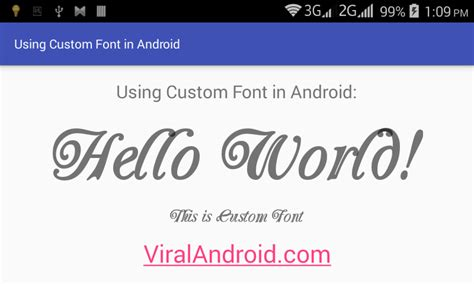 design font android how to use custom fonts in android application viral