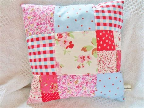 Everyday Celebrations Simple Patchwork Pillows Free Pattern - patchwork cushion kit cath kidston fabric sewing kit easy