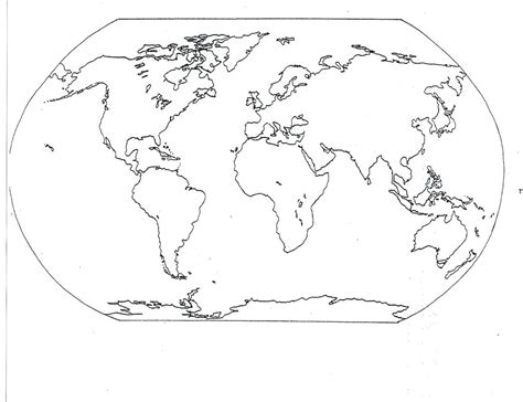 printable maps for students world map coloring page 05 for the classroom pinterest