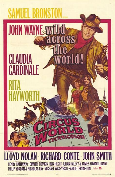 Circus World 1964 Circus World 1964 Find Your Film Movie Recommendation Movie Roulette Com