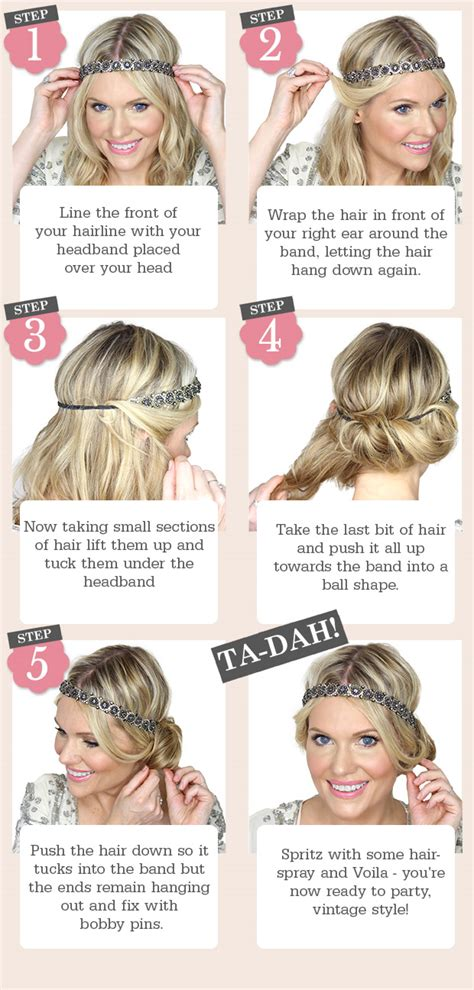 easy 1920s hairstyles 5 easy steps to this vintage updo beauty and the boutique