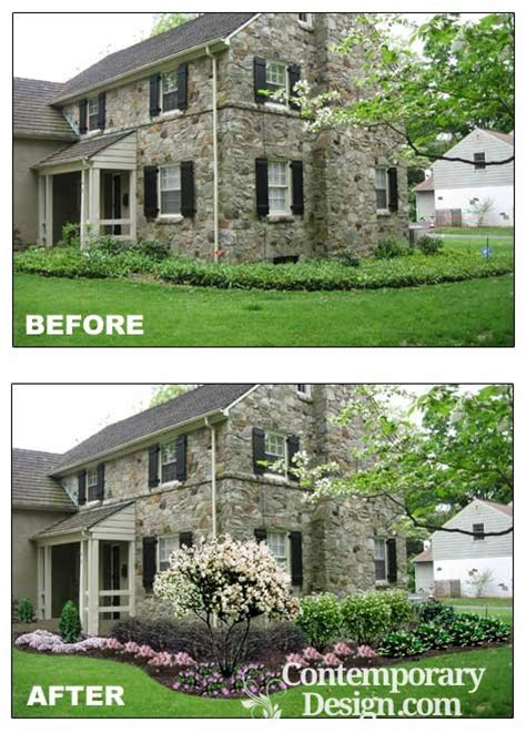 before and after curb appeal curb appeal before and after