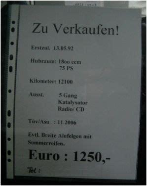 Auto An Und Verkauf by Auto Zu Verkaufen