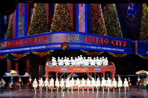 it all about purple radio city music hall christmas