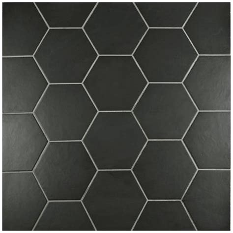 1 white matte hexagon floor tiles beltile matte black porcelain hexagon 7x8 7x8 beltile