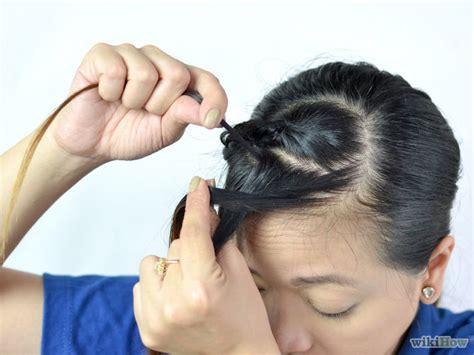 french braid bangs step by step step by step bang twist step by step bang twist 3 ways to