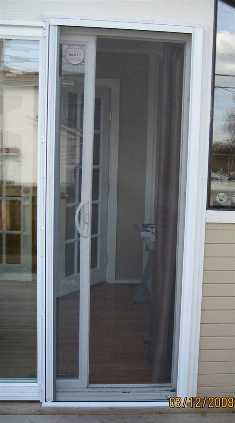 Patio Sliding Screen Doors Retractable Patio Screen Door Single Door Retractable Screen Kit Retractable Door Phantom