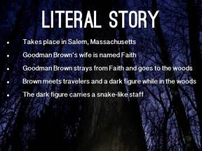 themes in the story young goodman brown young goodman brown faith www pixshark com images