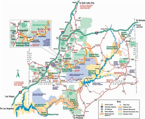bryce hiking map bryce hiking map pdf travelsfinders